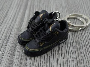 timeless design dfede 3f71f Mini Sneaker Keychains Air Jordan 2 - Black History Month (2011)