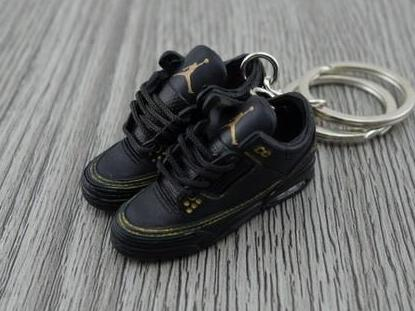 Mini Sneaker Keychains Air Jordan 2 - Black History Month (2011)