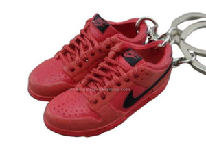 Mini sneaker keychain 3D Dunk Lo - Infrared
