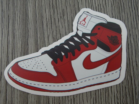 Air Jordan 1 sticker - Design C - Chicago