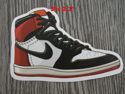 Air Jordan 1 sticker - Design G - Black Toe