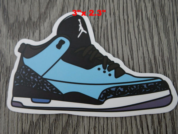 Air Jordan 3 sticker - Design B