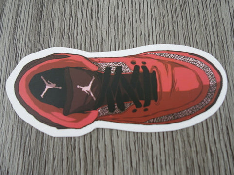 Air Jordan 3 sticker - Design D