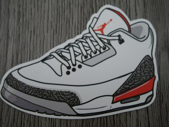 Air Jordan 3 sticker - Design F