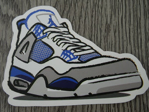 Air Jordan 4 sticker - Design A