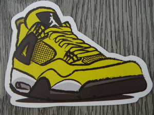 Air Jordan 4 sticker - Design B