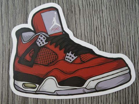 Air Jordan 4 sticker - Design E