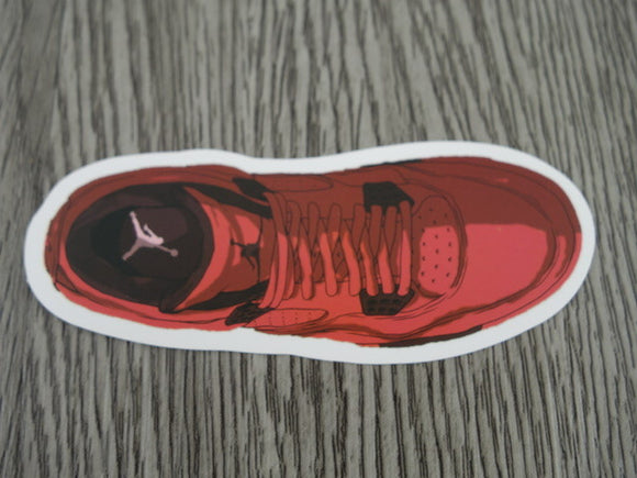 Air Jordan 4 sticker - Design G
