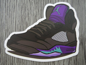 Air Jordan 5 sticker - Design F