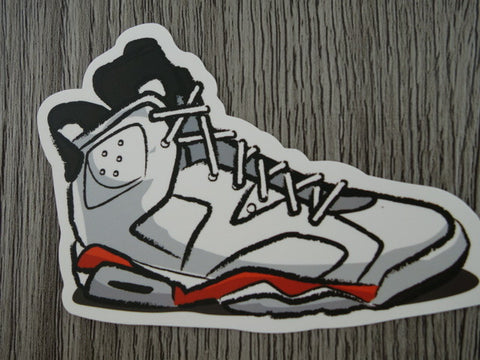 Air Jordan 6 sticker - Design G
