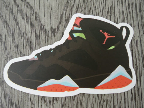 Air Jordan 7 sticker - Design A