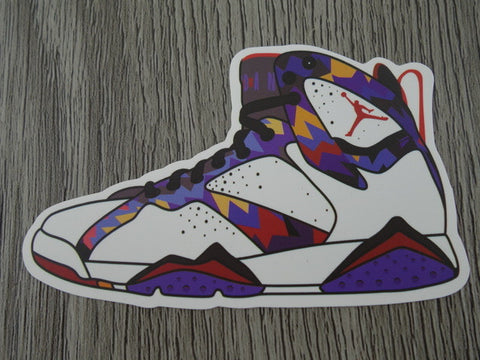 Air Jordan 7 sticker - Design E