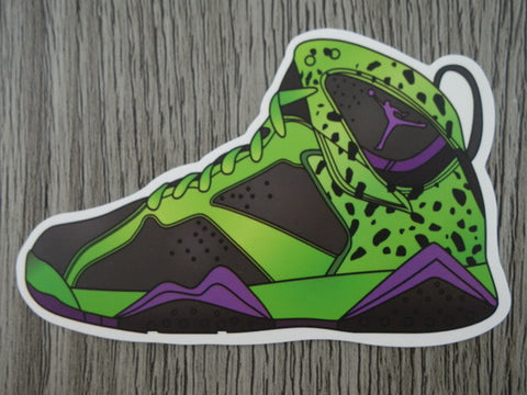Air Jordan 7 sticker - Design F - Cell