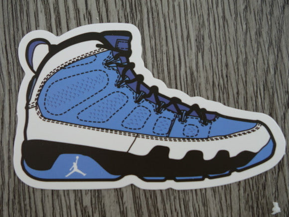 Air Jordan 9 sticker - Design A