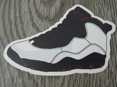 Air Jordan 10 sticker - Design B