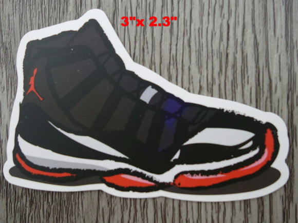 Air Jordan 11 sticker - Design B