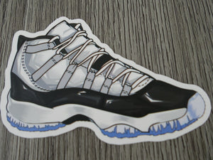 Air Jordan 11 sticker - Design C