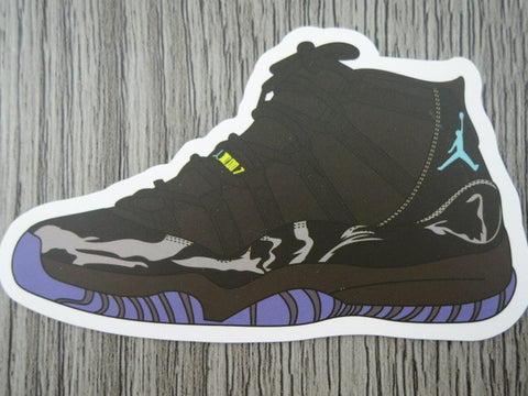 Air jordan 11 sticker design f