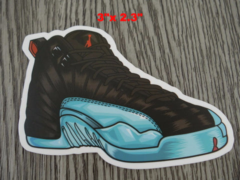 Air Jordan 12 sticker - Design B