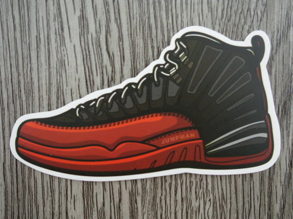 Air Jordan 12 sticker - Design E