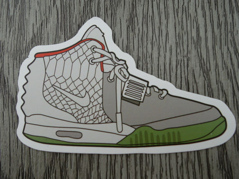YEEZY sneaker sticker - design A