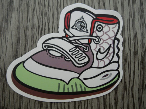 YEEZY sneaker sticker - design B