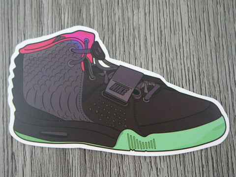 YEEZY sneaker sticker - design C