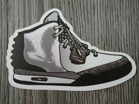 YEEZY sneaker sticker - design D