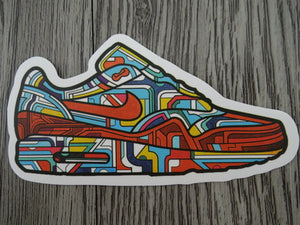 Air Max sneaker sticker - design B