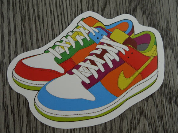 Nike Dunk sneaker sticker