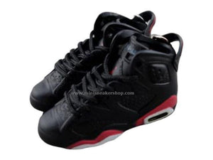 Mini Sneaker Keychains AJ 6 - OG Black Infrared