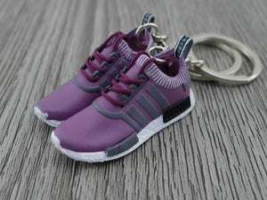 0b5b9f864cf5d Mini Sneaker Keychains Adidas NMD runner - Purple – Mini Sneaker Shop