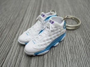 Mini 3D sneaker keychains Air Jordan 13 Chris Paul