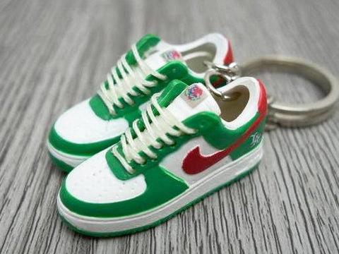 mini 3D sneaker keychains Air Force 1 Los Angeles