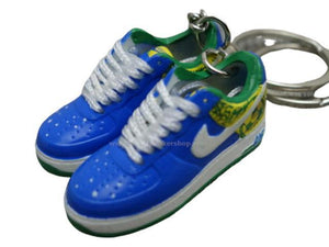 Mini Sneaker Nike Air Force - Brasil