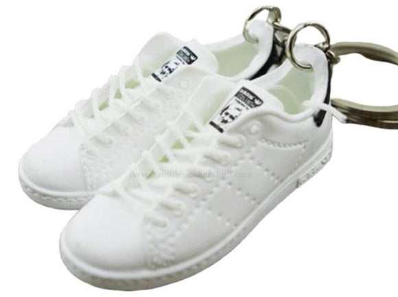 Mini 3D sneaker keychains Stan Smith - Triple White