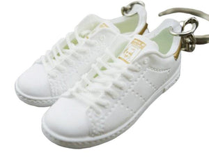 Mini 3D sneaker keychains  Stan Smith  White and Copper