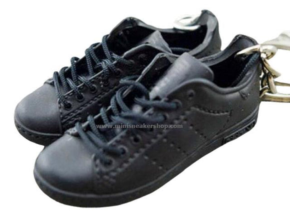 Mini 3D sneaker keychains Stan Smith- Triple Black
