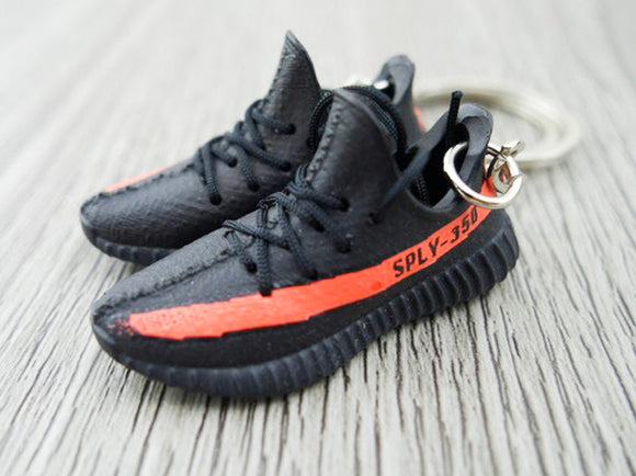 Mini Sneaker Keychains Adidas Yeezy Boost 350 V.2 - Core Red