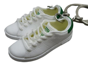 Mini 3D sneaker keychains Adidas Stan Smith