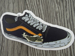 Vans sneaker sticker - design A