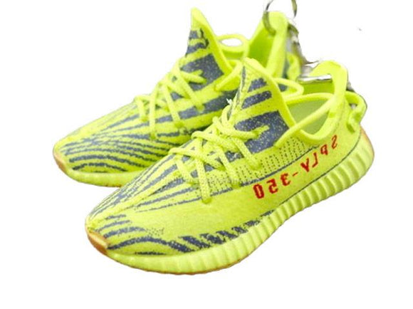 Mini Sneaker Keychains Adidas Yeezy Boost 350 Citrus