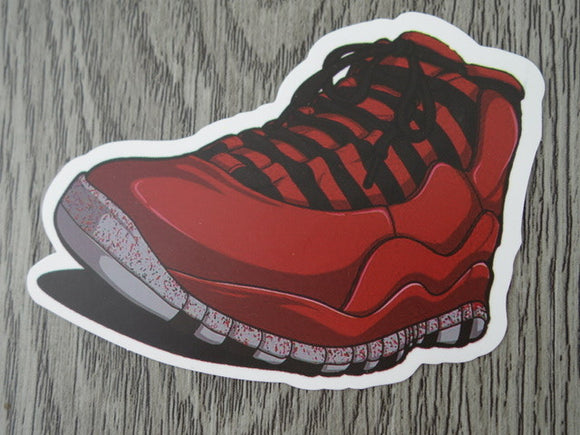 Air Jordan 10 sticker - Design A