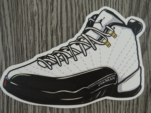 Air Jordan 12 sticker - Design A