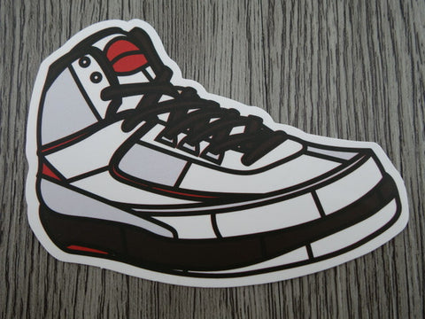 Air Jordan 2 sticker - Design A