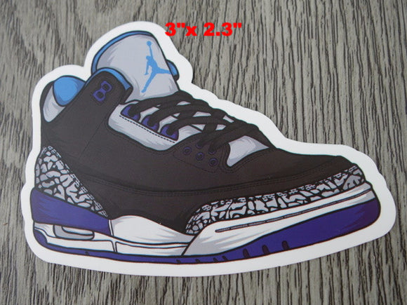 Air Jordan 3 sticker - Design A