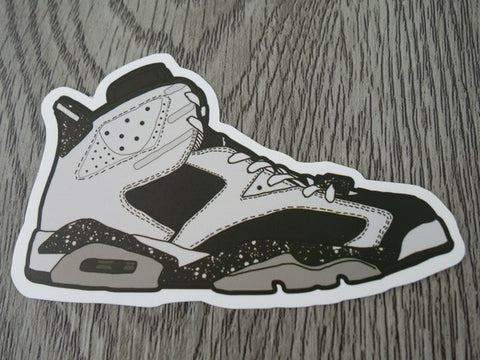 Air Jordan 6 sticker - Design A