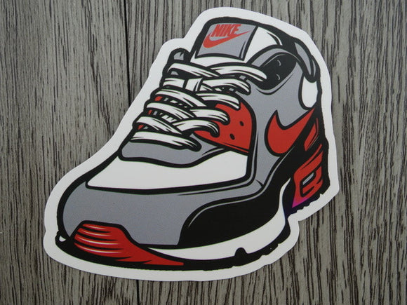 Air Max sneaker sticker