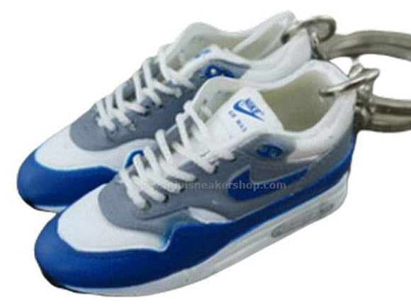 mini 3D sneaker keychains Air Max 1 - OG Sport Blue (1987)
