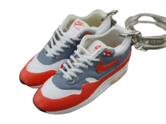 mini 3D sneaker keychains Air Max 1 - OG Sport Red (1987)